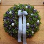 Levendulás-fürjtojásos húsvéti koszorú