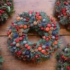 Almás-iringós karácsonyi kopogtató