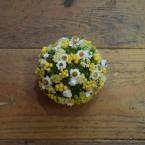 Moha gömb színes virágokkal