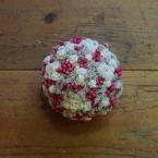 Sóvirág gömb színes virágokkal